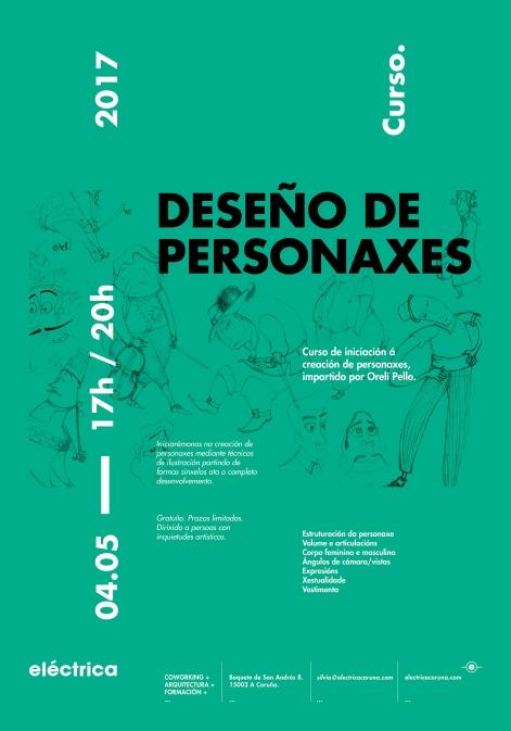 Taller de iniciación al Diseño de Personajes impartido por la ilustradora Oreli Pello